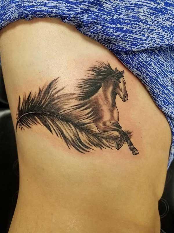 85 Tatuagens De Penas Masculinas E Femininas Desenhos