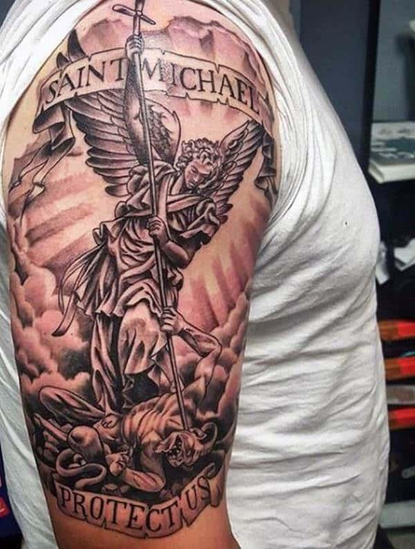 55 Tatuagens De São Miguel Lindas Para Você Tatuar