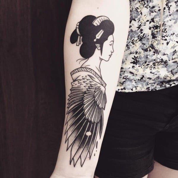 89 Tatuagens De Gueixa Imperdiveis Para Voce Tatuar