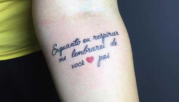 Tatuagem Homenagem A Mae Frases Frases E Mensagens Em