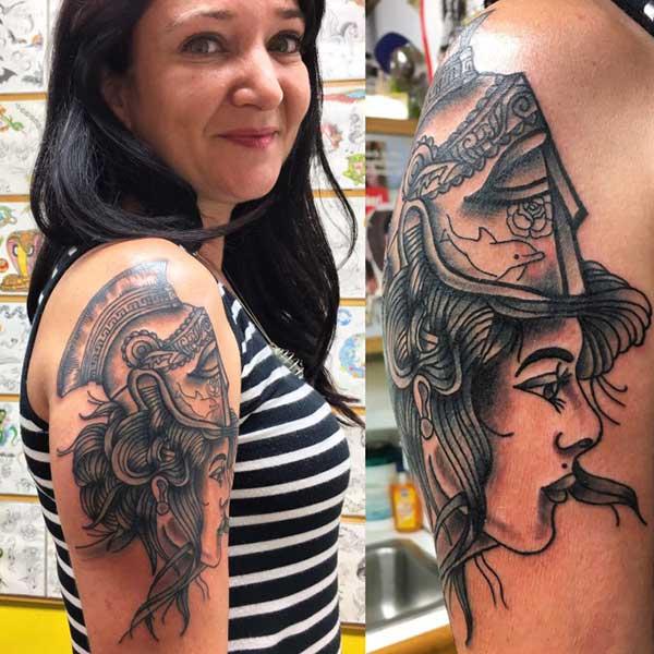 69 Tatuagens Apaixonantes De Afrodite A Deusa Do Amor