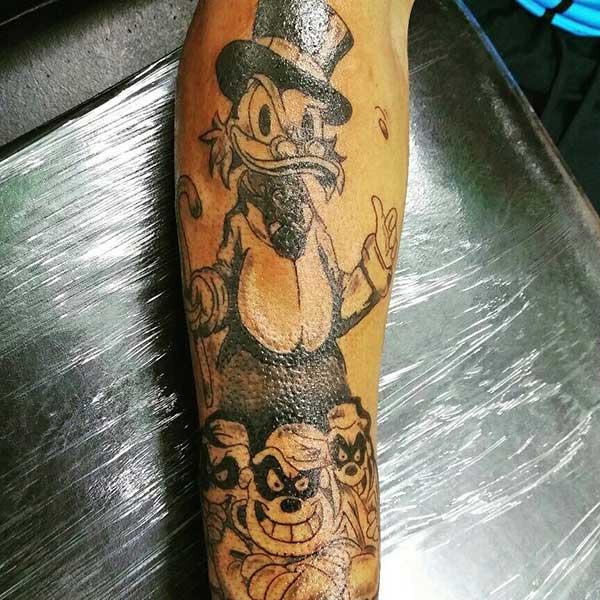 66 Tatuagens Dos Irmãos Metralhas Desenhos E Significados