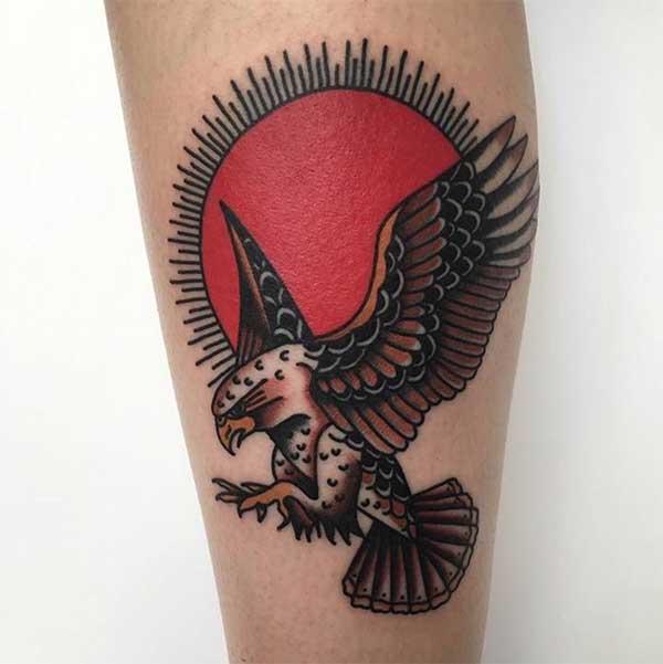 da1cbdf420 55 Belas Tatuagens de Águia para Voar da sua Pele!  FOTOS