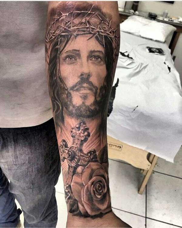 59 Lindas Tatuagens De Jesus Cristo Que Mostram O Amor