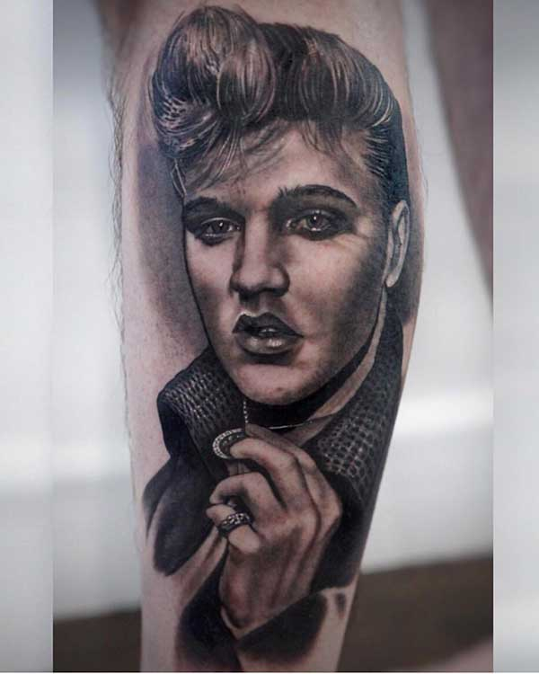 Tatuagens do Elvis Presley 1