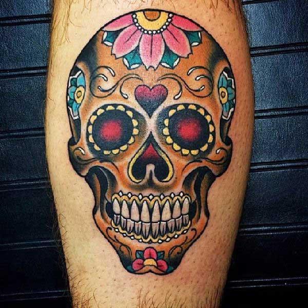 65 Fotos De Tatuagens De Caveira Mexicana Para Voce Tatuar