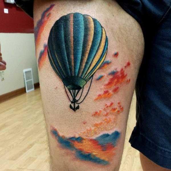 tattoo de bal%C3%B5es