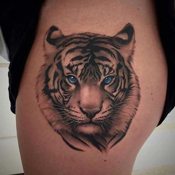 tattoo de tigre