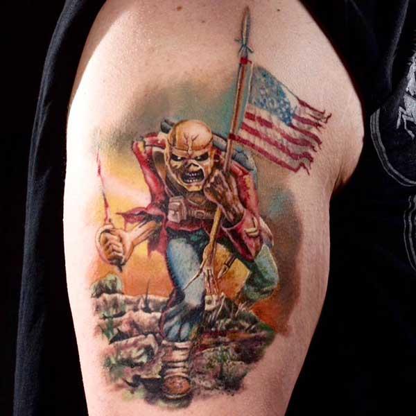 66 Tatuagens Fantásticas Do Iron Maiden Desenhos E