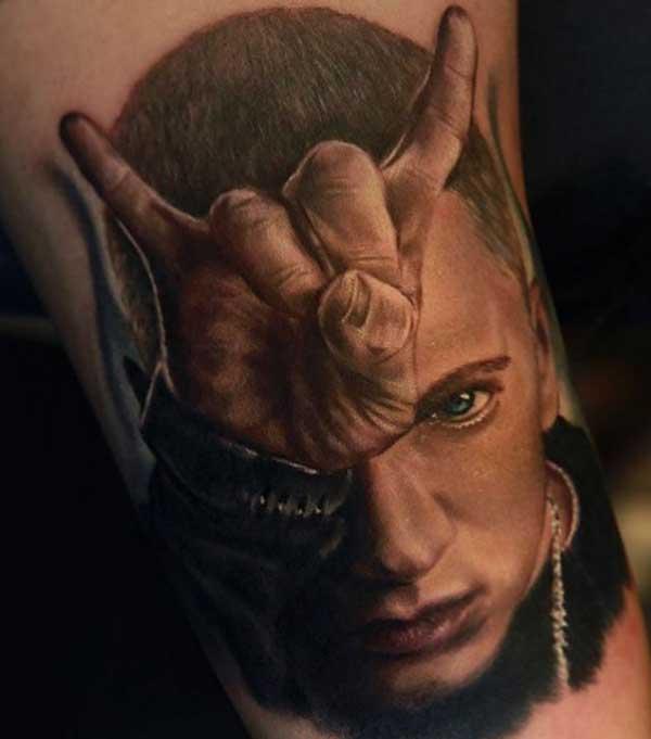 tattoo do eminem
