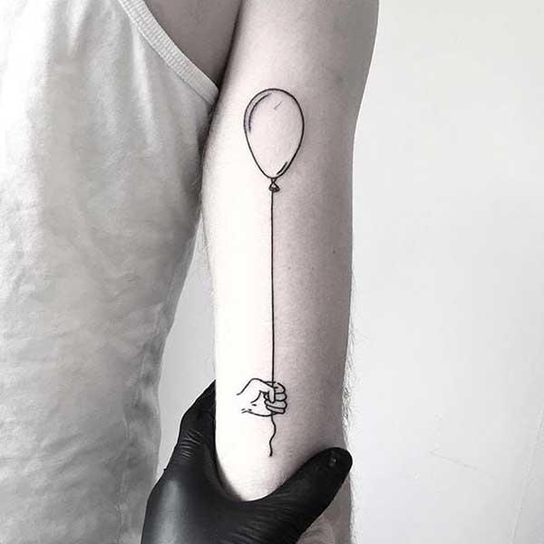 tatuagens de bal%C3%B5es
