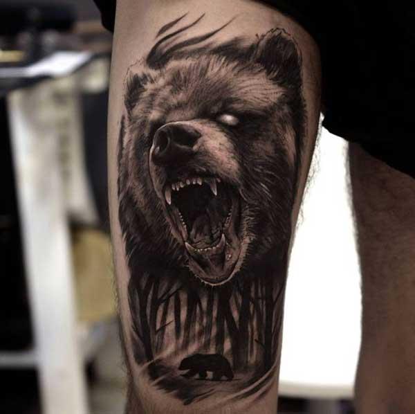 tatuagens de ursos