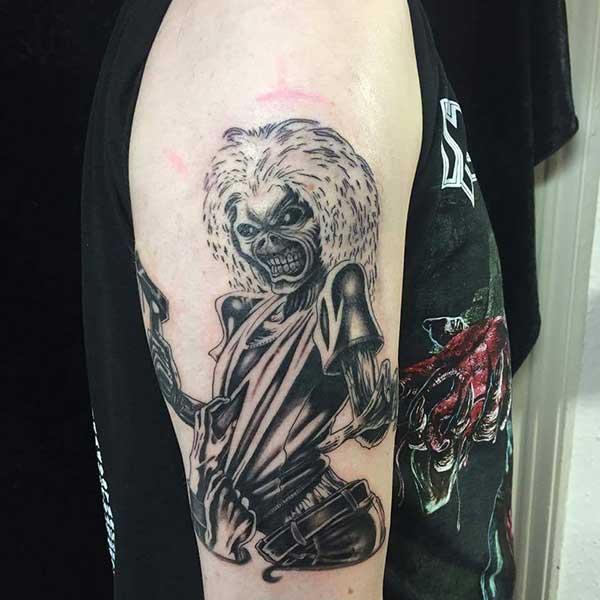tatuagens do iron maiden