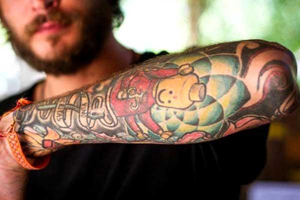 evitar queloide tatuagem