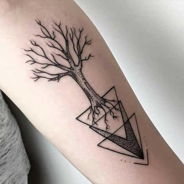 com triângulos