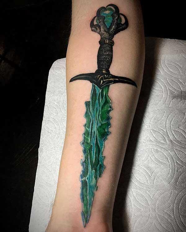 espada verde