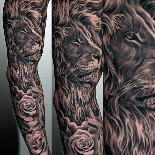 tattoo de le%C3%A3o