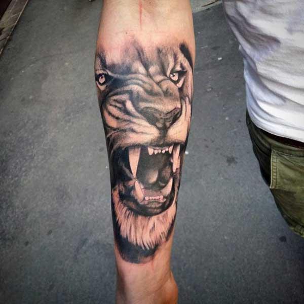 tattoo de le%C3%B5es