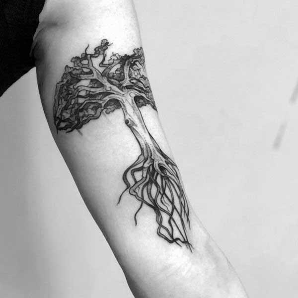 tattoos de árvores