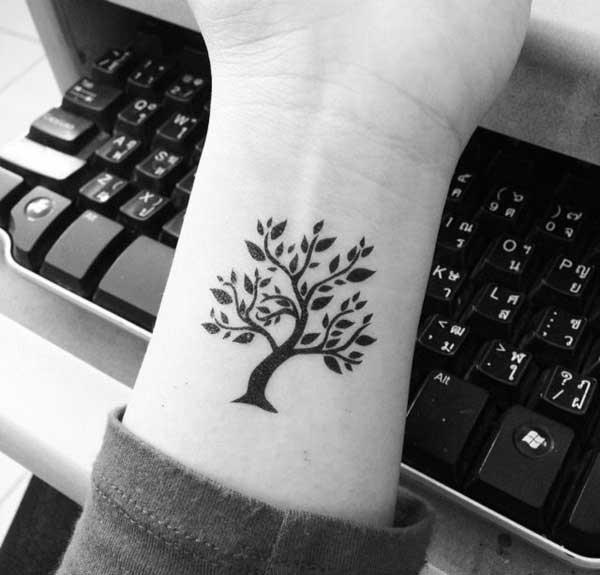 tatuagens de árvores 1