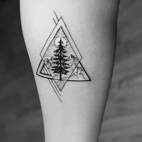 tatuagens de árvores