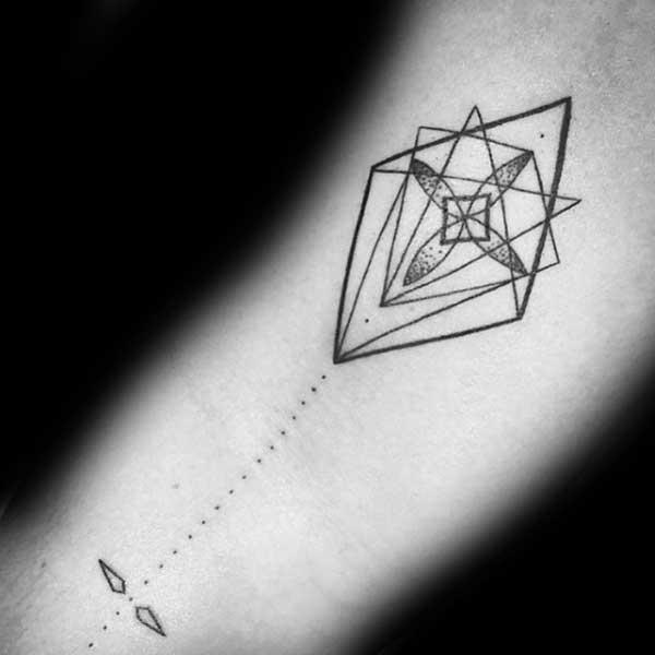 tatuagem de pipa