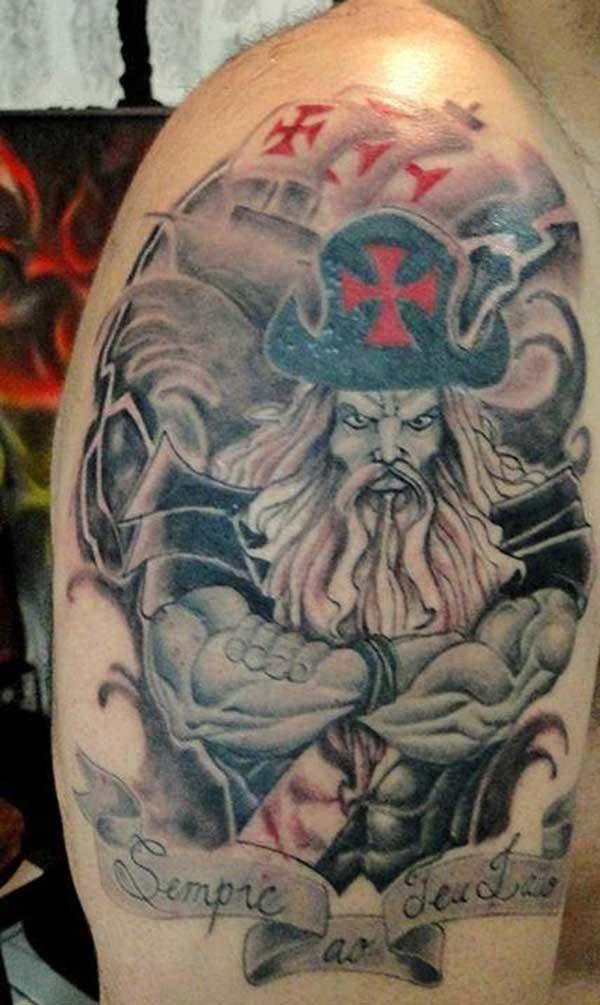 tatuagem do vasco