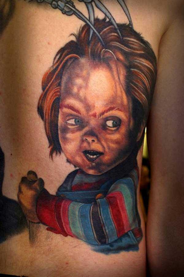 tatuagens do boneco assassino