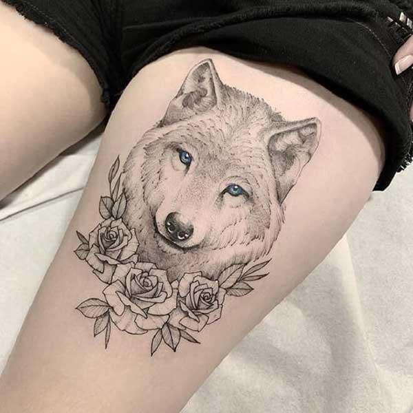 98 Melhores Tatuagens De Lobo Para Tatuar Hoje Desenhos